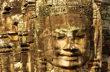 bayon: Prasat Bayon Khmer temple, Angkor Thom, Siem reap, Cambodia