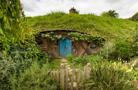 HOBBITON home of the HOBBIT movie and LORD OF THE RINGS 2016 on FEBRUARY 04, 2016 in Matamata, New Zealand 2016 Editorial