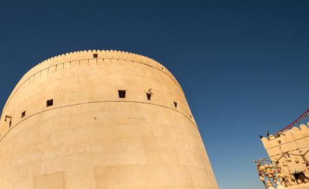 Nizwa, Oman panorama fort Arabian Peninsula. Nizwa was the capital of Oman proper and is located about 140 km from Muscat.