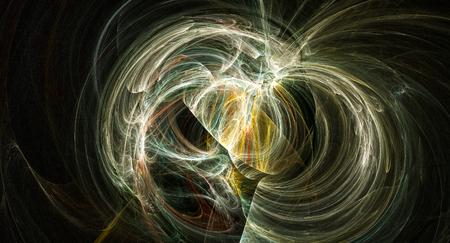 Supernova bright abstract backgound nebula explosion Stock Photo