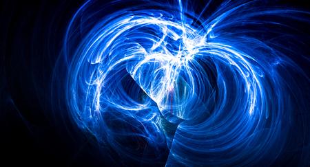 Supernova bright abstract backgound nebula explosion Standard-Bild