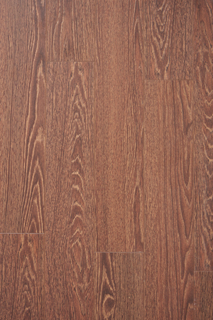 texture imitating oak flooring laminate chocolate color Stock Photo