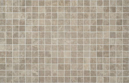 Texture of fine ceramic tiles cream and brown. Stock Photo