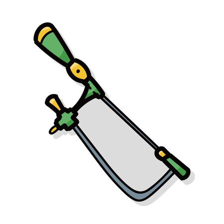 saws: Saws color doodle