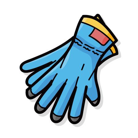 work gloves doodle