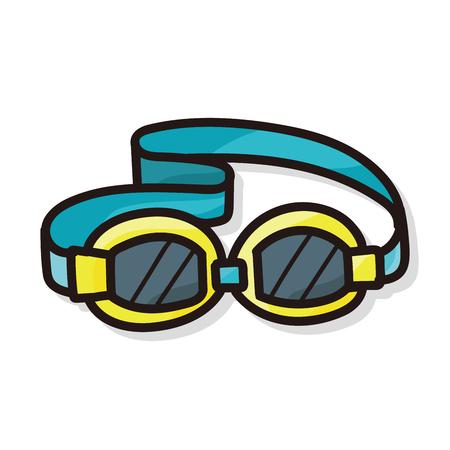 goggles: Goggles color doodle