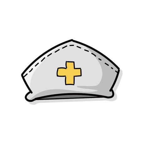nurse hat: nurse hat color doodle