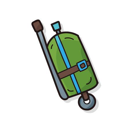 cylinder: oxygen cylinder doodle