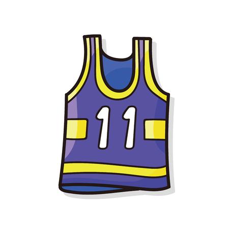 sports wear: sports wear doodle