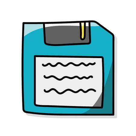 floppy disk: floppy disk doodle