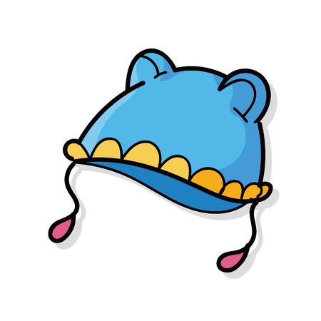아기 모자 낙서