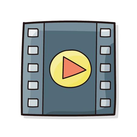 vcr: film tape doodle