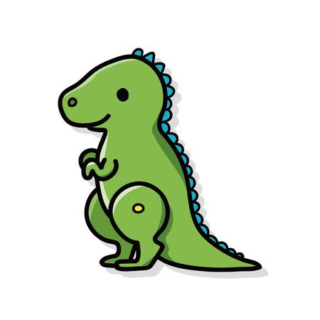 dinosaurio: Doodle de los dinosaurios