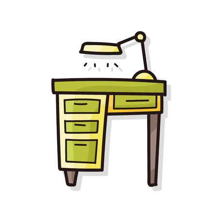 stressed people: desk doodle