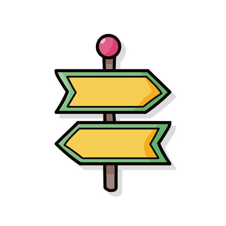 roadsign: roadsign doodle