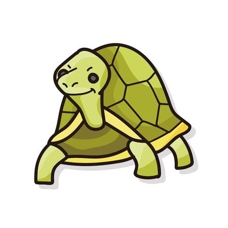 animal: animal turtle doodle