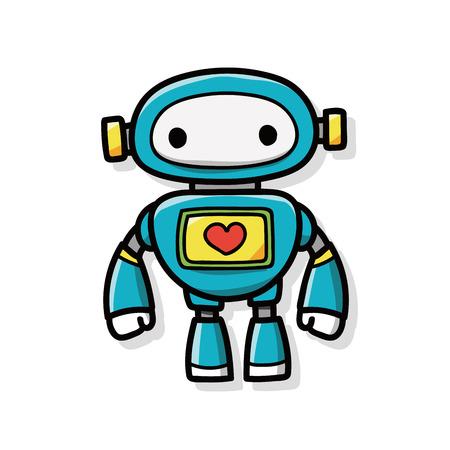 ロボットの落書き