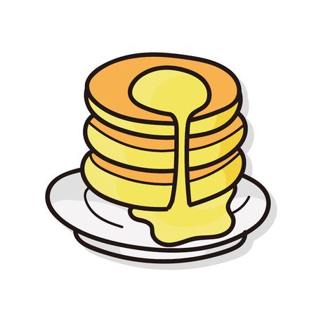 frozen drink: pancake doodle