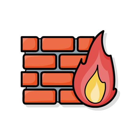firewall: Firewall doodle