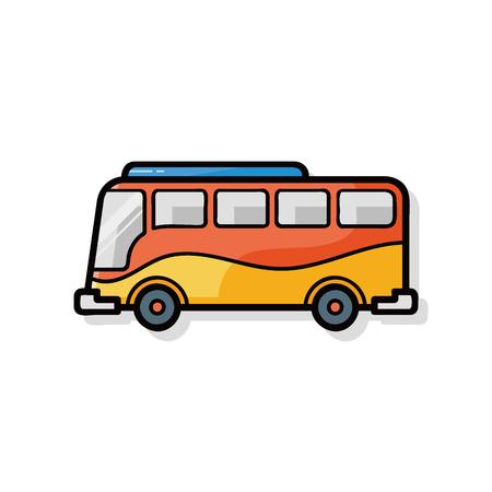 cartoon bus: bus doodle