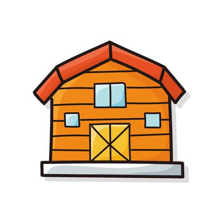 old barn: barn doodle