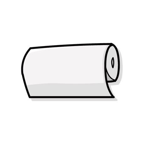 tissue paper doodle Illustration