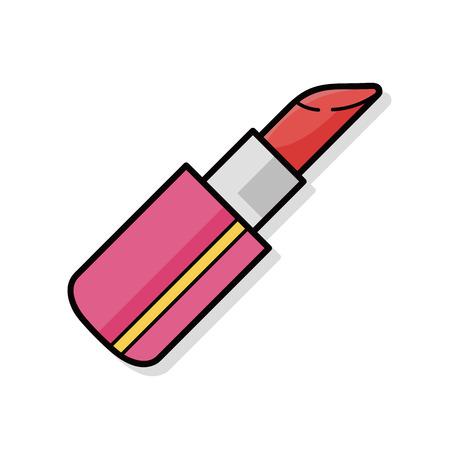 lipstick doodle Zdjęcie Seryjne - 45406634