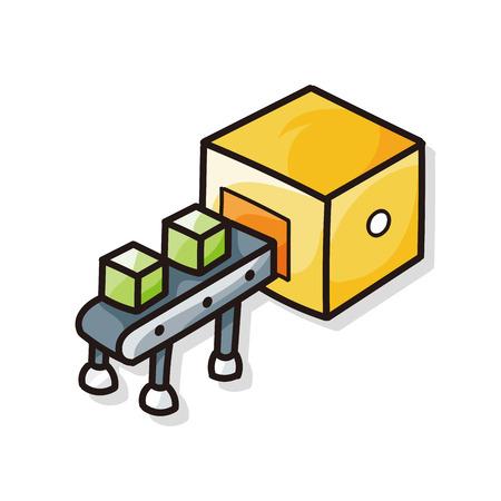 packaging industry: Conveyor doodle
