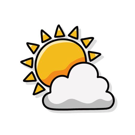 słońce: sun doodle