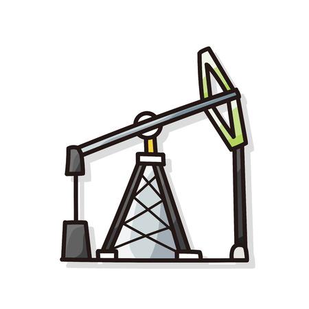 hoist: Lifting machine doodle