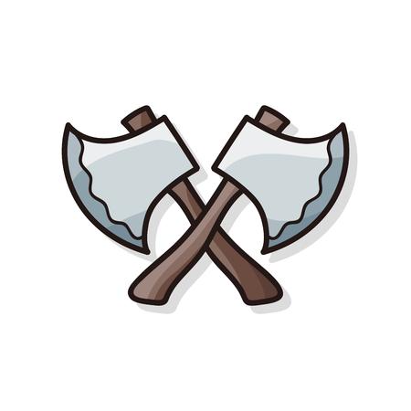 weapon: weapon doodle Illustration
