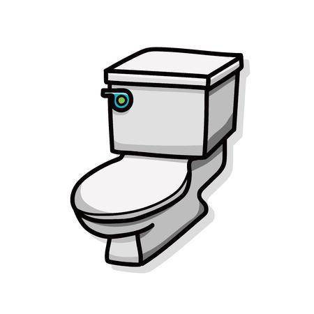 toilet paper art: toilet doodle