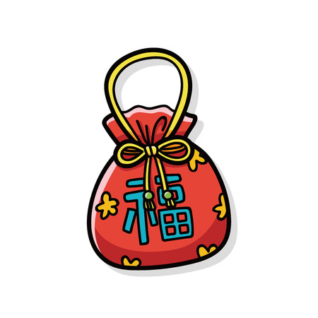 talism�n: Garabato talism�n chino Vectores