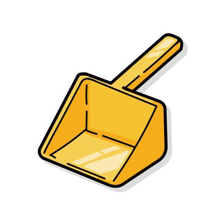 filler: pet shovel doodle