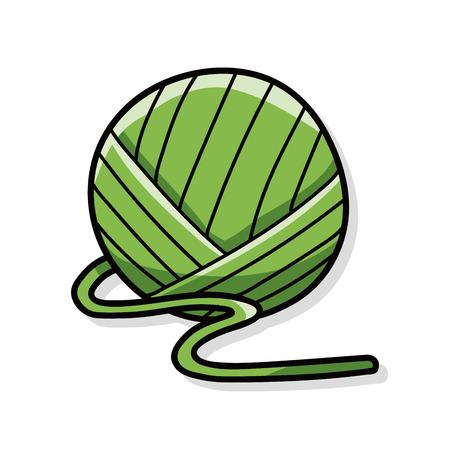Yarn doodle
