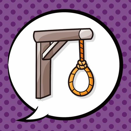 ahorcado: hangman doodle, speech bubble