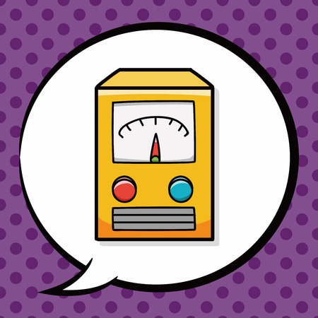 power transformer: power transformer doodle, speech bubble