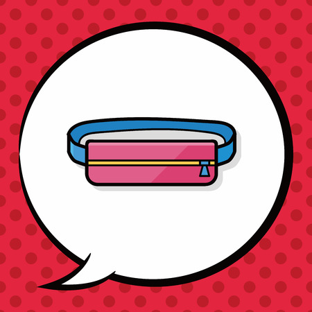 headband: sport headband doodle, speech bubble
