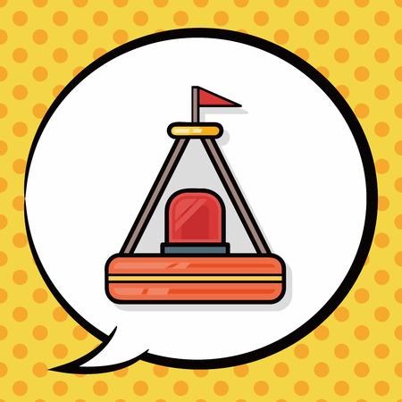 buoy: Buoy doodle, speech bubble
