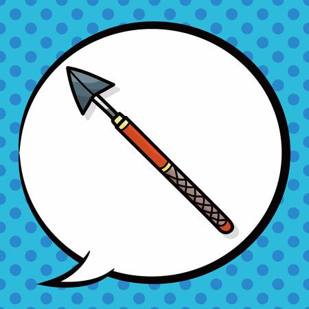 weapon: weapon doodle, speech bubble