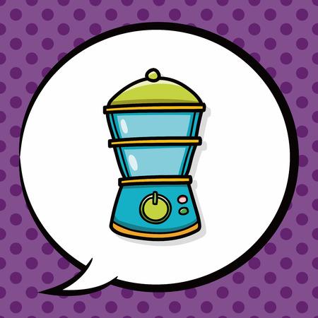 juicer: Juicer doodle, speech bubble