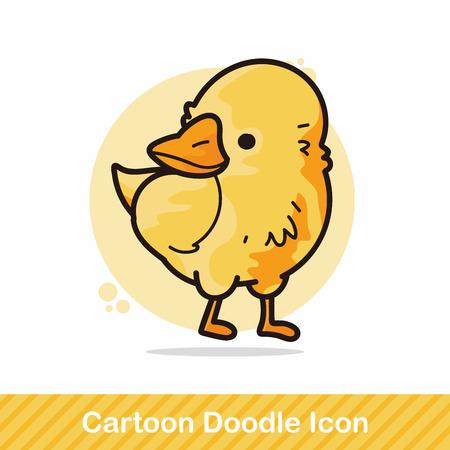 animal: animal chicken doodle