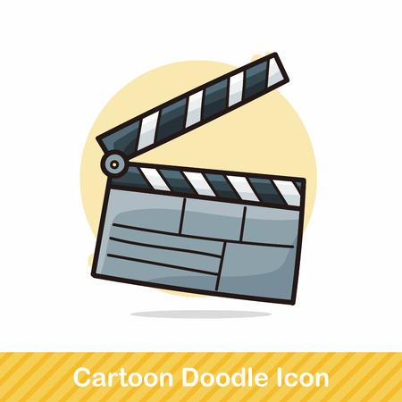 clapboard: Clapboard  doodle