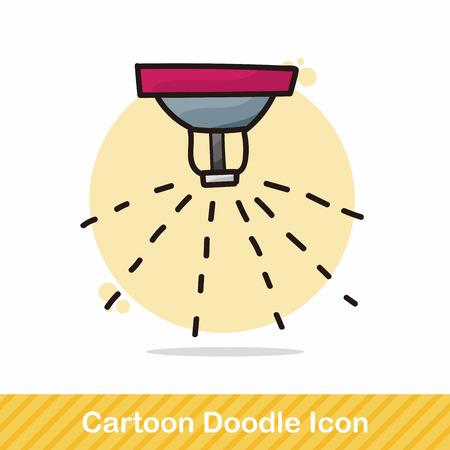 sprinklers: Sprinklers color doodle