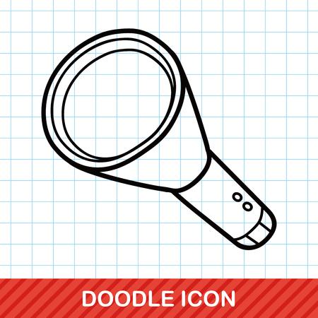 flashlight: flashlight doodle