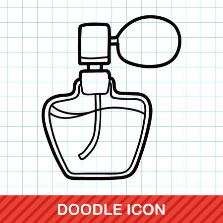 perfume spray: perfume doodle