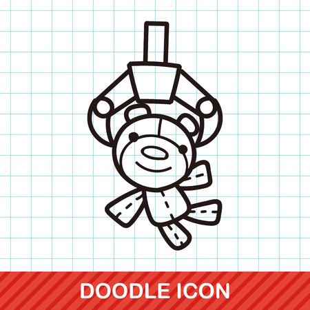garra: garra del doodle juego