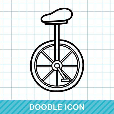 unicycle: Unicycle doodle