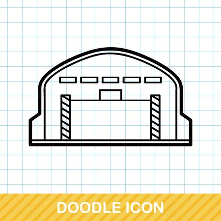 storehouse: Warehouse doodle