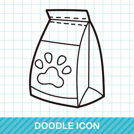 feed: dog feed doodle